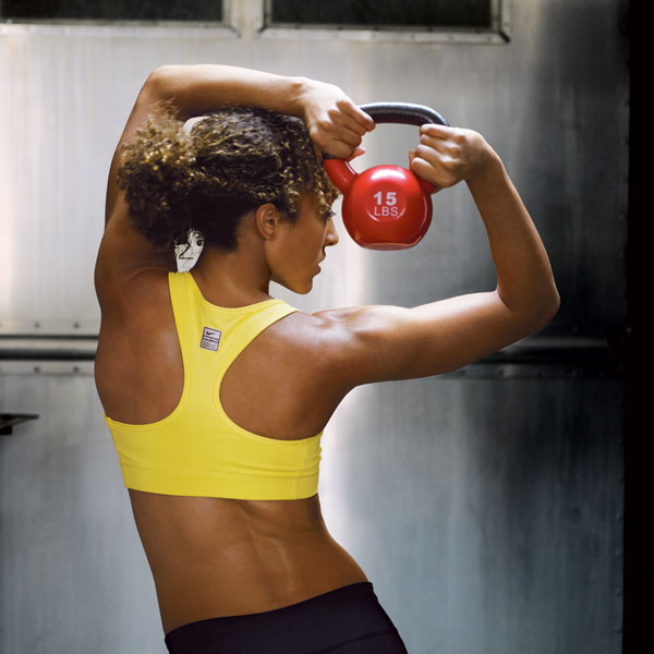 Work Out With Kettlebells